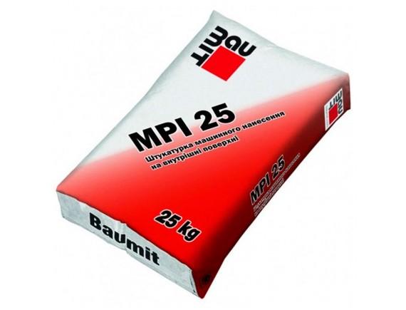 Цементно-известковая штукатурка Baumit MPI-25 25 кг