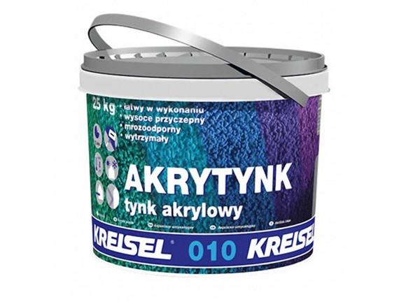 """Акриловая штукатурка """"короед"""" Kreisel AKRYTYNK 010 зерно 2 мм 25 кг база Д"""