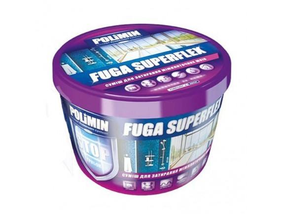 Заполнитель Polimin Fuga Superflex серый 2 кг