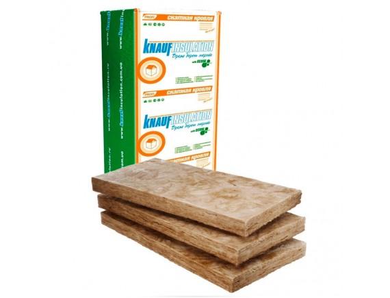 Минеральная вата Knauf Insulation Тепло плита-037 50 мм 0.61x1.25 м 18.3 м2/уп