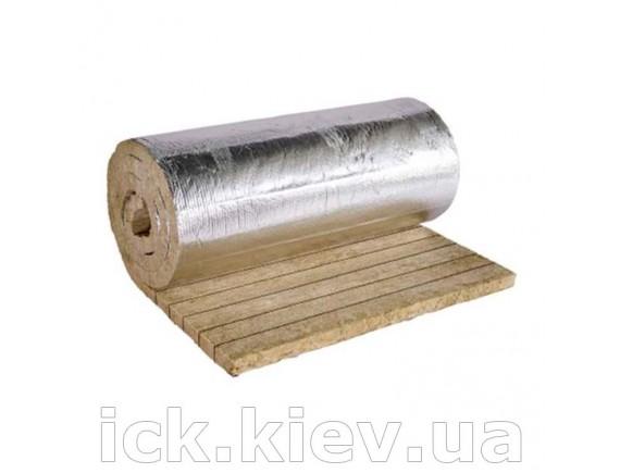 Фольгированные ламельные маты Knauf Insulation LMF AluR 50 мм 5.0x1.0 м d-35 5 м2/уп