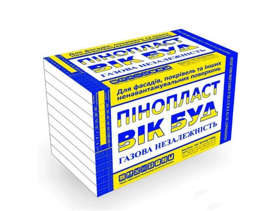 Пенопласт Вик-буд 1000x500x50 мм плотность 13.4-14.1 кг/м3