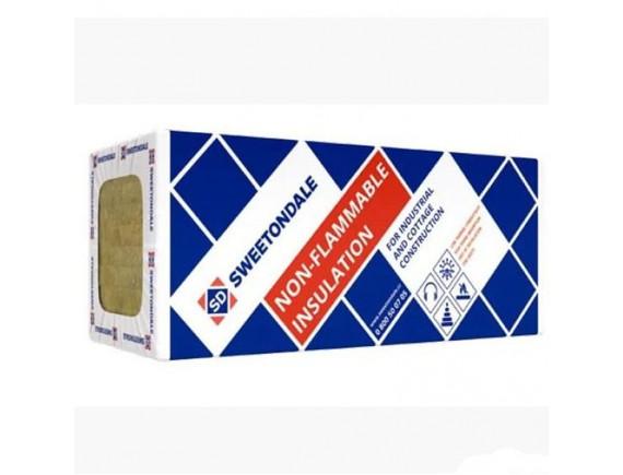 Базальтовая вата ТехноНИКОЛЬ ТЕХНОВЕНТ Стандарт 80 кг/м3 1200х600х100 мм 3 шт/уп