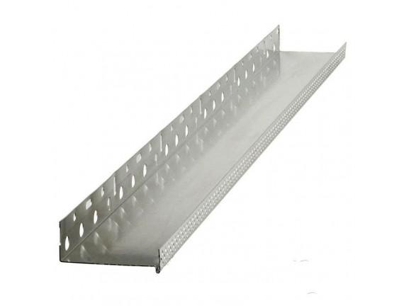 Профиль Галич Профиль алюминиевый цокольный 53 мм х 2,5 м