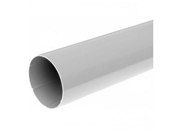 Труба водосточная Bryza 90мм/3м белая