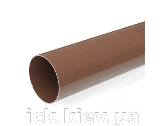 Труба водосточная Bryza 90мм/3м коричневая