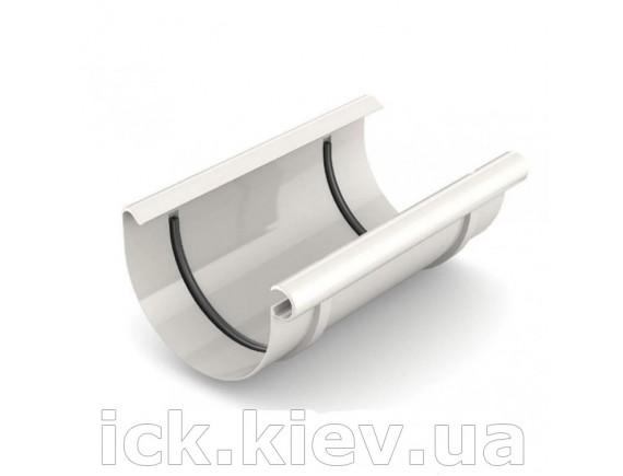 Муфта ринвы Bryza 125 мм белая
