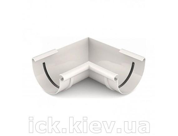 Угол внутренний 90 градусов Bryza 125 мм белый