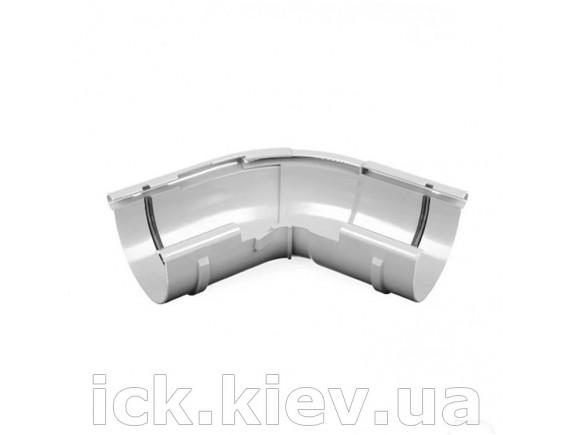 Угол внешний регулируемый 120-145 градусов Bryza 125 мм белый