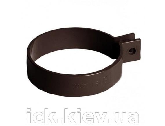Хомут Bryza 90 мм коричневый