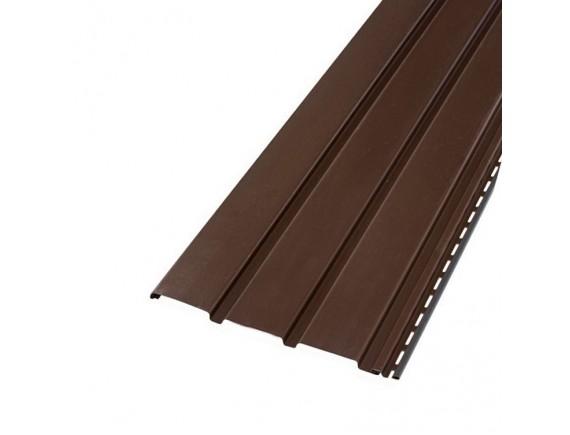 Панель Bryza 1.22 кв м коричневая 4х0.31 м