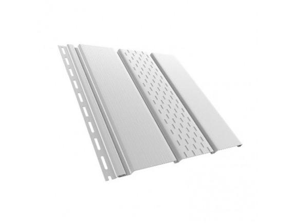 Панель перфорированная Bryza 1.22 кв м белая 4х0.31 м