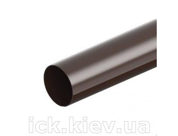 Труба водосточная Ines 80 мм, 3 м коричневая