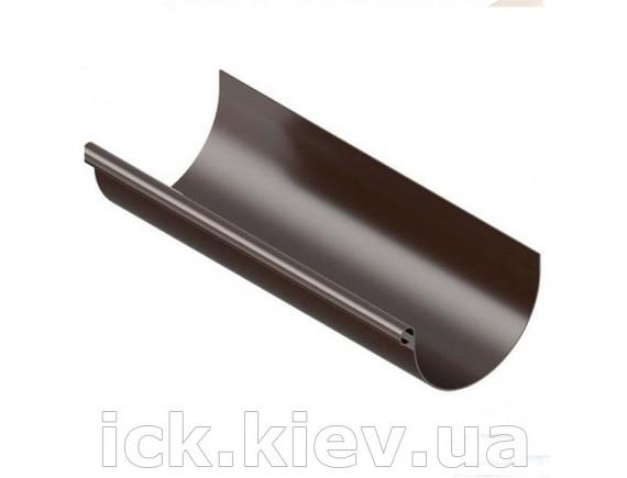 Ринва Ines 120 мм, 3 м коричневая