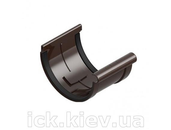 Муфта ринвы Ines 120 мм, коричневая
