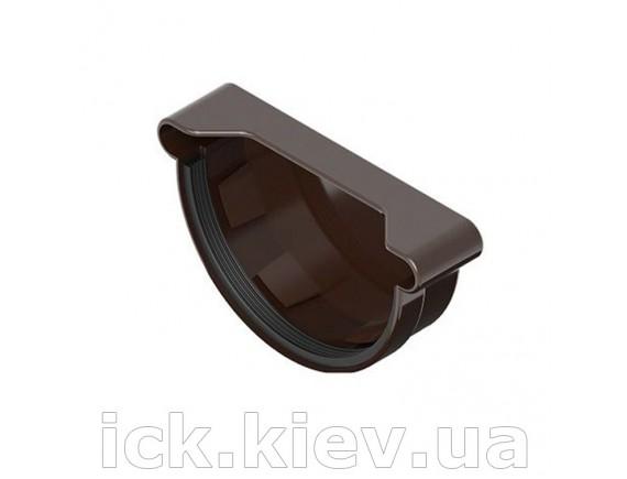 Заглушка универсальная Ines 120 мм, коричневая
