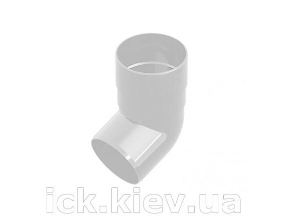 Колено Ines 80 мм белое
