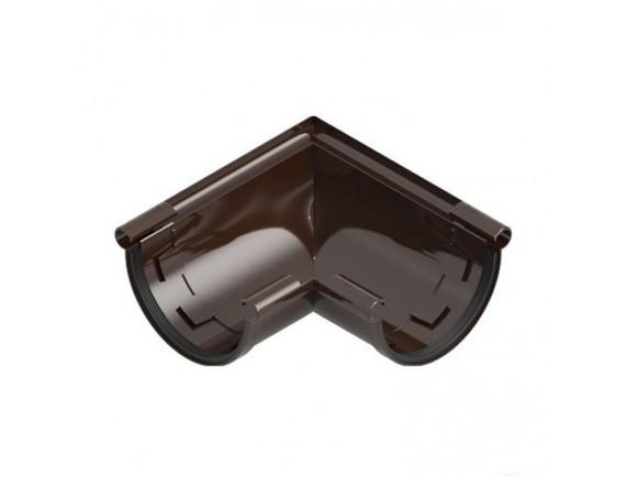 Угол универсальный 90 градусов Ines 120 мм коричневый