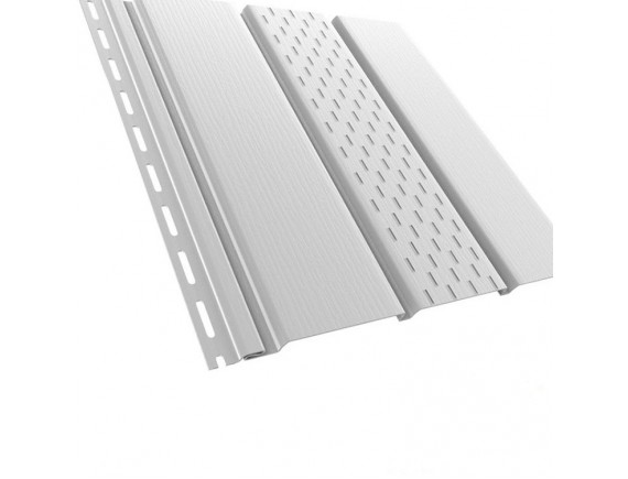 Панель перфорированная Bryza 3 м, белая