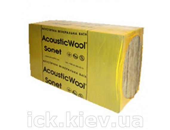 Акустическая минеральная вата AcousticWool Sonet P 50x1000x600 мм