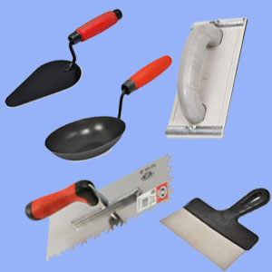 Инструменты штукатурные